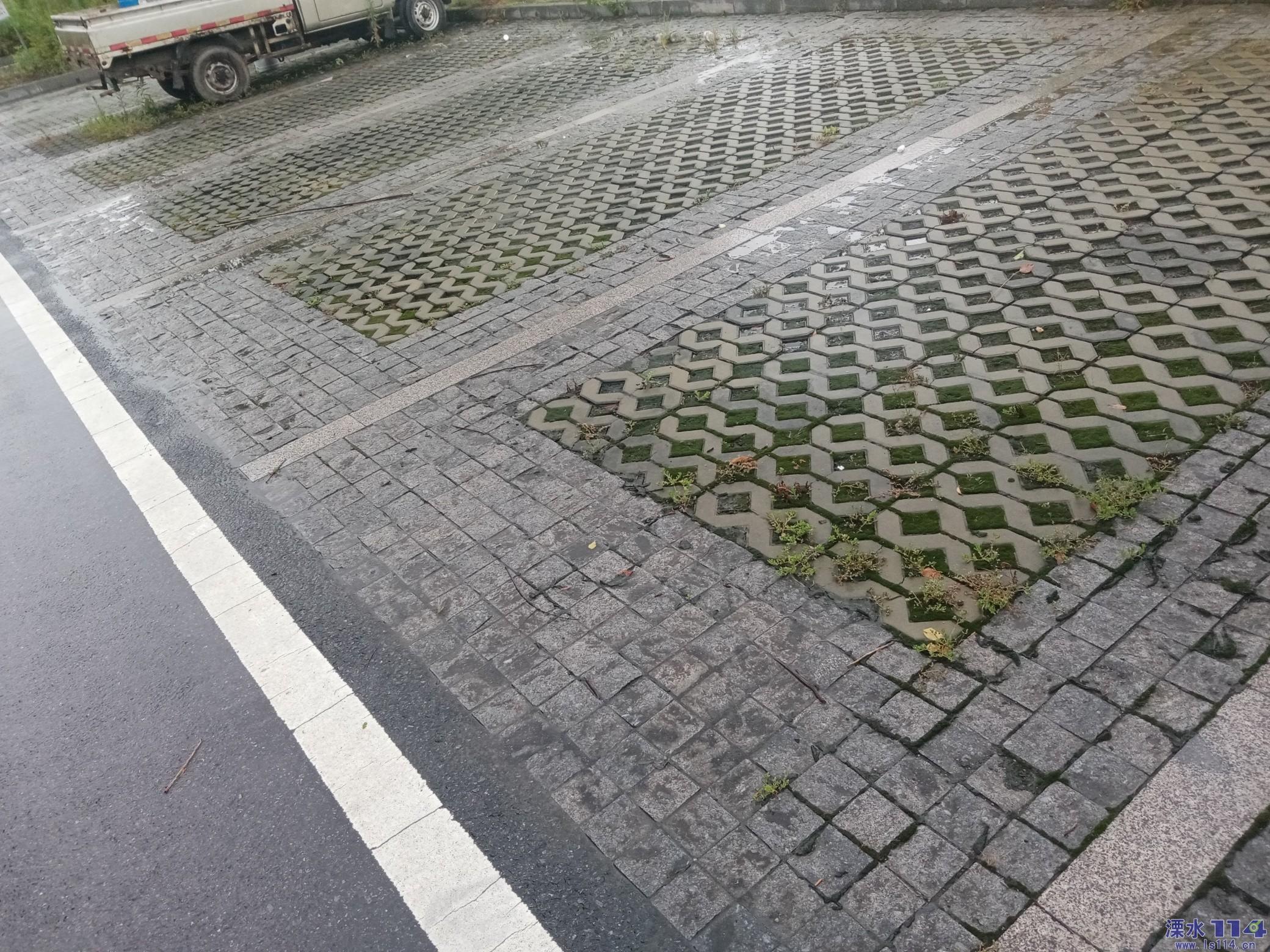 为什么停车场里不停车