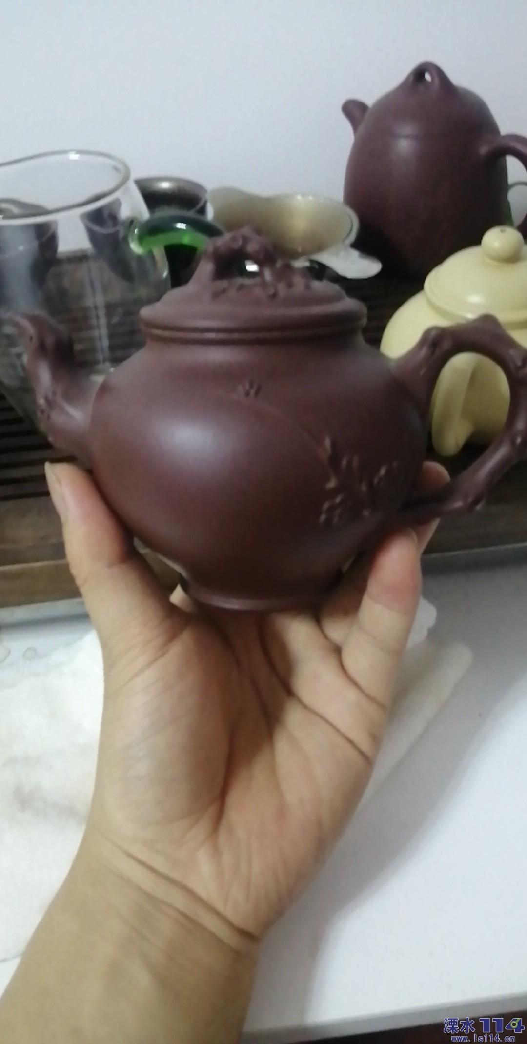 溧水有喜欢紫砂壶的朋友吗