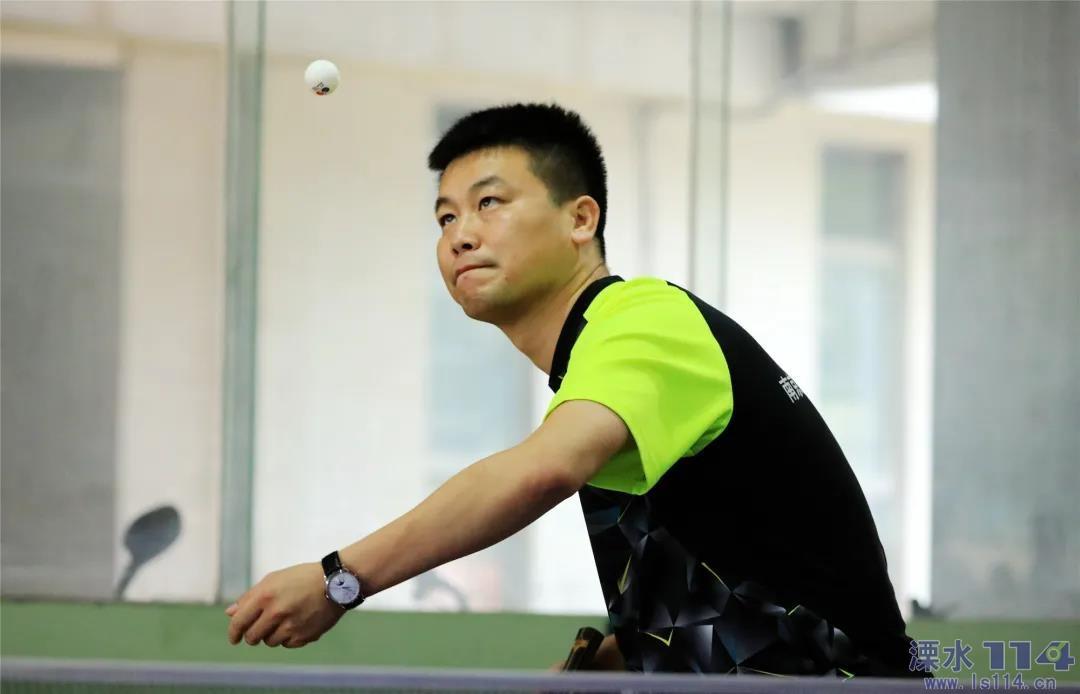 """爱""""乒""""才会赢!溧水区第五届运动会乒乓球比赛火热开赛!"""